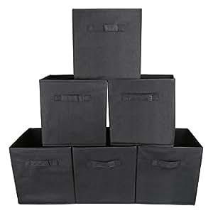 EZOWare 6er-Pack Aufbewahrungsbox Faltbare