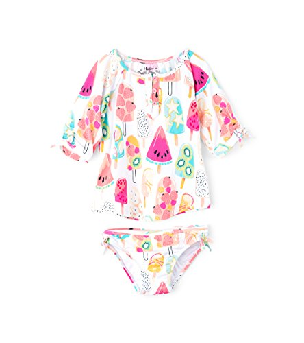 Hatley Girl's Rash Guard Swimwear Set