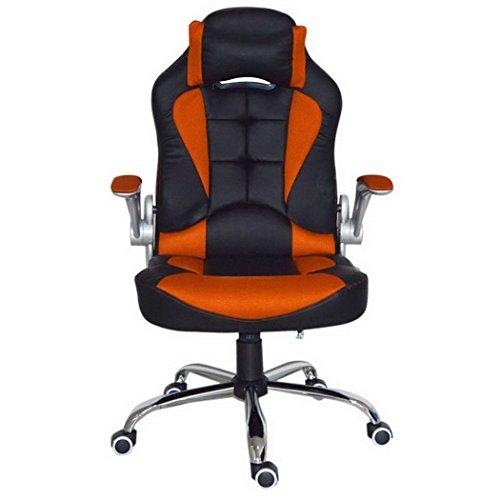 Teamyy Racing Bürostuhl Chefsessel Schreibtischstuhl Drehstuhl Gaming Stuhl Verstellbar Ergonomisch