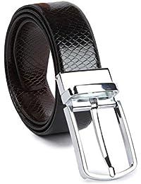 Kesari's Pu Leather Reversible Blabk|Brown Belt for men-belts for men formal branded-belt for men casual-belt for men formal-gifts for men…
