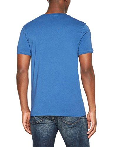 BOSS Casual Herren T-Shirt Troy Blau (Bright Blue 432)