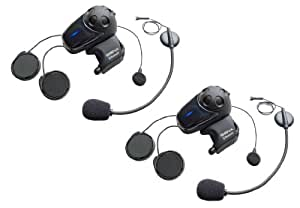 Sena SMH10D-11 Bluetooth et Intercom avec Micro Universel Pack Double