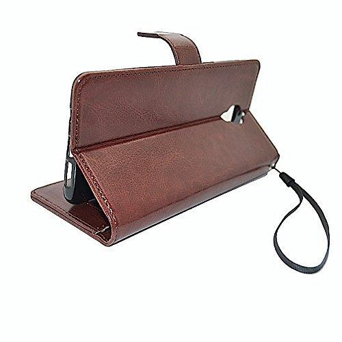 Bracevor OnePlus 3 , One plus 3T AUTO SLEEP WAKE Flip Cover Case : Premium Leather / inner TPU Case