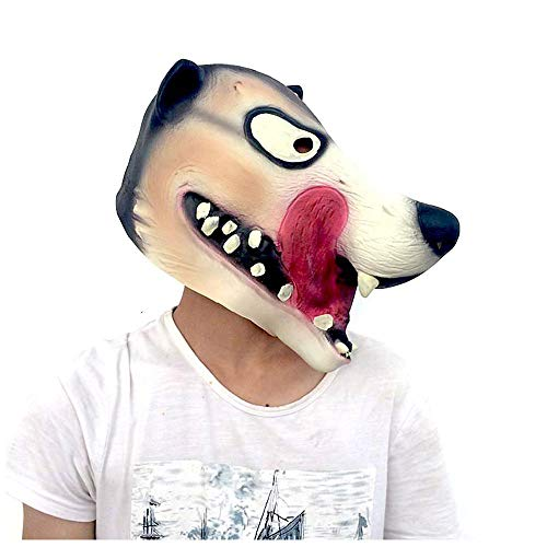 Maske YN Luxus Neuheit Wolf Tierwelt Kostüm Party -