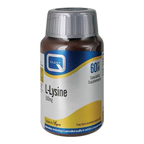 Quest L-Lysine, 60 Tablettes (L-lysine Tabletten 60)