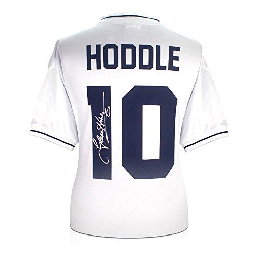 Glenn Hoddle Firmado Tottenham Hotspur Camisa: Número 10