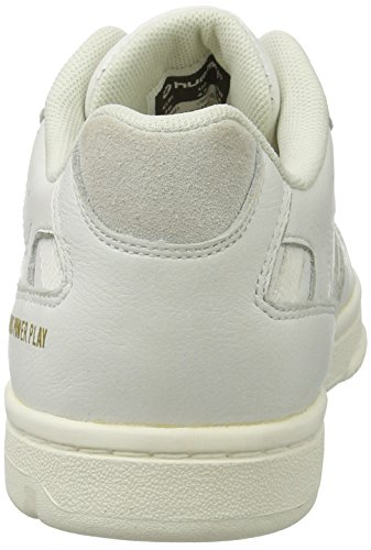 hummel Pernfors Power Play, Sneakers Basses Mixte Adulte Blanc (White)