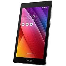Asus ZenPad C 7.0 Z170CG-1B030A Tablet con Funzione Telefono, Processore Intel Quad Core, 16 GB, Dual SIM, Android 5.0, Bianco (Ricondizionato) )