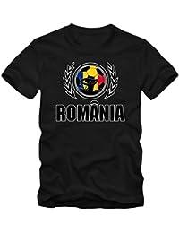 Shirt Happenz Rumania Campeonato de Europa 2016#2 Camiseta | Hombre | Fútbol | Island | Jersey | Tricolorii |…
