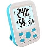 GAOHL Reloj despertador digital en forma de cuadrado luz ABS ambiental materiales de la cáscara , blue
