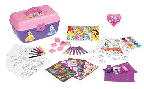 Smoby Toys-40168-Principesse Disney-vanità creativo