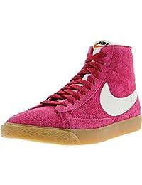 71fe6e947bf3c Nike Wmns Blazer Mid Suede Vintage Guantes Mujer Piel De Sneaker Mid Top  Rosa 518171 614