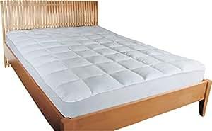 mesana premium matratzen schoner gr e 90x190 bis 100x200 cm h he 27cm wei soft touch. Black Bedroom Furniture Sets. Home Design Ideas