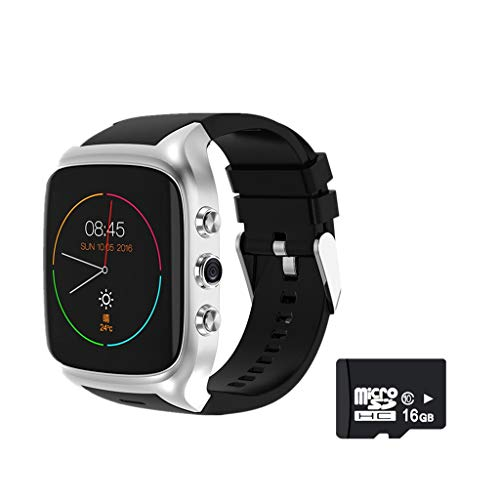 wertyhy Smart Uhr Android 5.1 Smart Watches 6580 ROM8GB + RAM512 Bluetooth4.0 SmartWatch mit GPS + 3G + WiFi + GPRS-Uhr für Android Phone Watch Wifi-gprs-gps