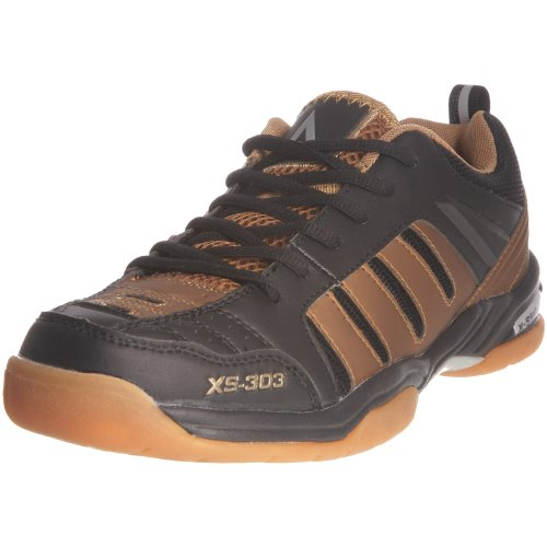 Karakal Karakal Xs 303, Chaussures tennis homme Noir/or