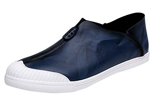 WTUS Docksides, Loisirs Angleterre Chaussures Bateau Homme bleu3