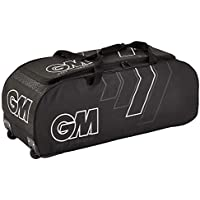 GM Cricket 707 Wheelie Bag IN (Black & White)
