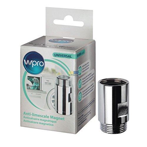 Wpro MWC014 ORIGINAL Kalkschutz Magnetischer Wasserentkalker Anti Kalk Magnet 3/4' Anschluss Zulaufschlauch Spülmaschine Waschmaschine auch Whirlpool Bauknecht 484000008410