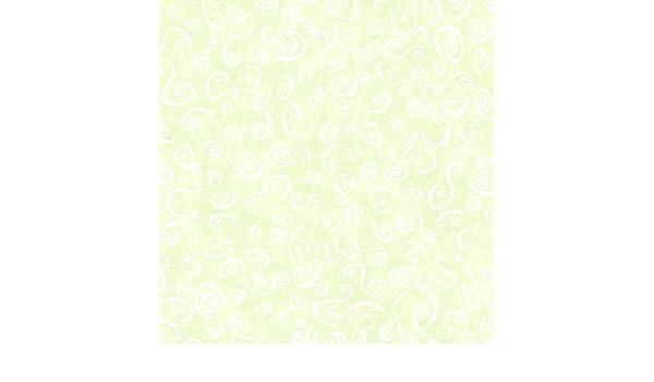Wallpaper Fun Light Green Background Swril Scroll