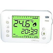 Orbis Mirus Blanco Reloj de termostato, OB324700