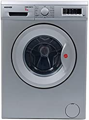 Hoover 7 Kg 1000 RPM Front Load Washing Machine, Silver - HWM-1007-S, 1 Year Manufacturer Warranty