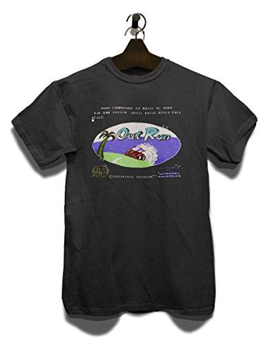 Outrun T-Shirt Grau