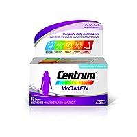 Centrum Pfizer, Multivitamin Tablets for Women, Pack of 60 Tablets