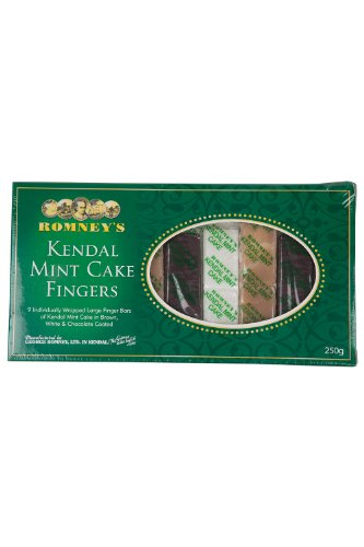 Mountain Warehouse Romney'S Kendal Walking Hiking Outdoors Mint Chocolate Energy Cake Fingers One