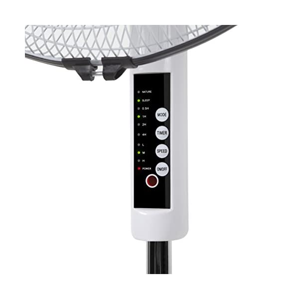 Orbegozo SF 0243 – Ventilador de pie, oscilante, potencia 48