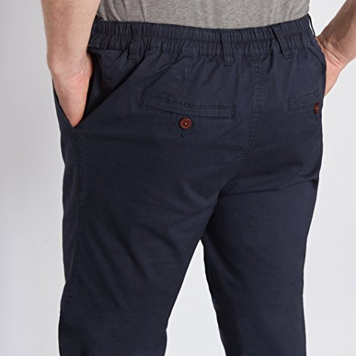 Castaluna For Men Uomo Pantaloni Sportwear Chino In Cotone Navy