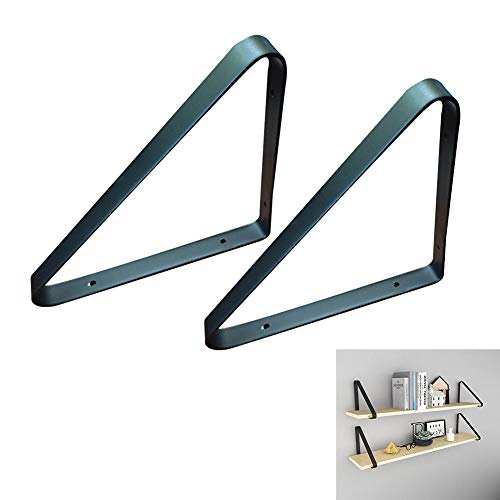 SHXF Shelf Soporte para estantes Triangular Baldas flotantes Esquina Redonda estantería de...