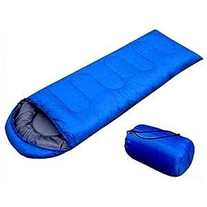 41Ux6Uu0z1L. SS300  - Outdoor Sleeping Bags Summer Spring Envelope Type Office Lunch Break Blue