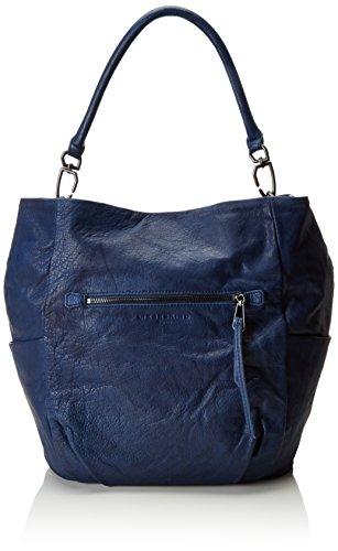 Liebeskind Berlin Damen Jeanye Schultertaschen, Blau (Indigo Blue 5816), 39x36x19 cm
