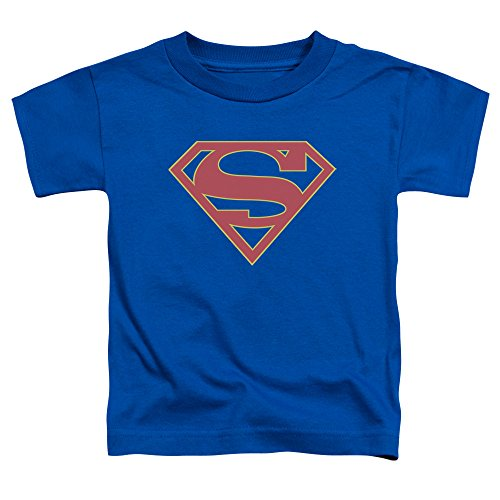 Supergirl - SuperGirl - Kleinkind-Logo-T-Shirt, 3T, Royal Blue (Kleinkind T-shirt Blue Royal)