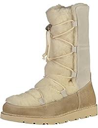 Birkenstock NUUK botas botines de gamuza/cuero de piel