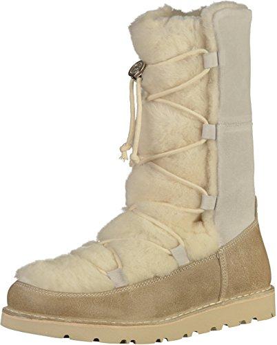 Preisvergleich Produktbild BIRKENSTOCK Nuuk Damen Stiefel Offwhite,  EU 39