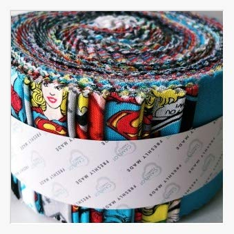 Jelly Roll Design (Unbekannt Camelot DC Comics 40Stück Jelly Roll-DC Comics II-Jelly Roll-camjr09-Paket 40Stück (2Oder 3Stück je Design) je 6cm x 110cm (6,3x 111,8cm ca.)-von)