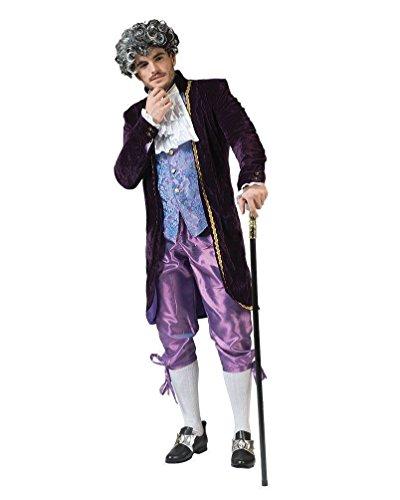 Toyland 51736 - costume barocco clive, taglia 56-58, 610060, medium