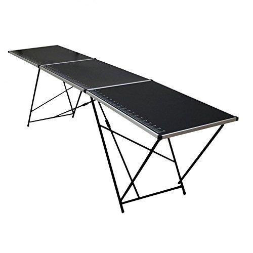 Oypla 3m Aluminium Folding Wallpaper Pasting Decorating Table Test