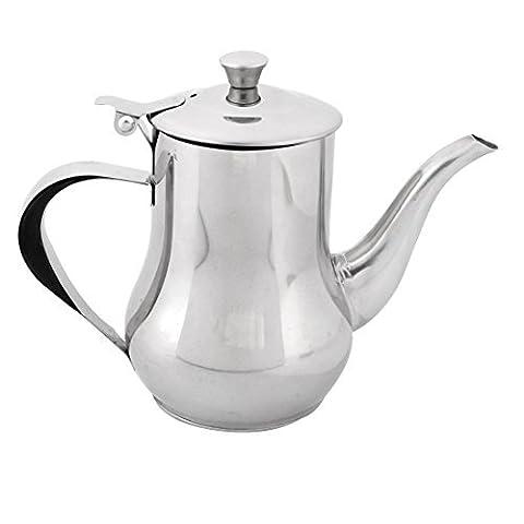 DealMux Edelstahl Speiseöl Essig Sojasoße Can Dispenser Kettle Pot Flasche
