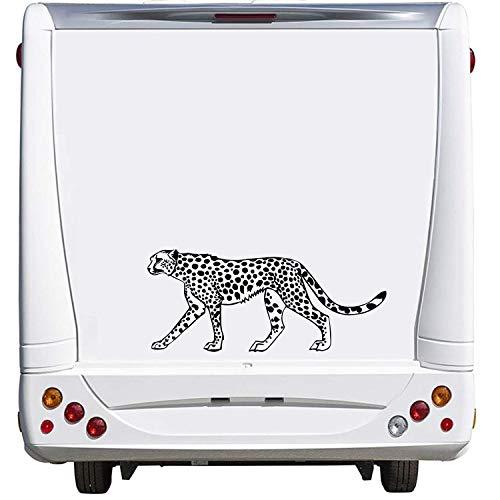 ohnwagen Caravan Camping Holiday Urlaub ca. 60cm Aufkleber Autoaufkleber Sticker Womo Wowa ()