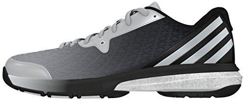 adidas Energy Volley Boost 2.0 W, Chaussures de Tennis Mixte Adulte Noir - Negro (Negbas / Plamat / Plamat)