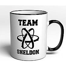 Taza Team Sheldon–Big Bang Theory–Fan Artículo regalo