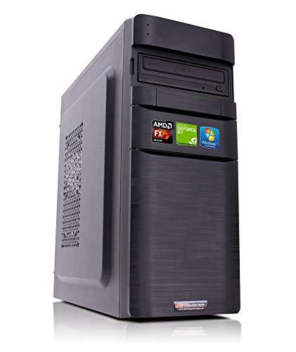 Office PC K11 AMD, FX-4300 4x3.8 GHz, 16GB DDR3, 2TB HDD, GT1030 2GB, Windows 7 Büro Computer Desktop Rechner