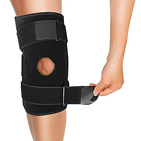 Trideer® Knee Support Brace Sleeve Sport Athletic with Open Patella,