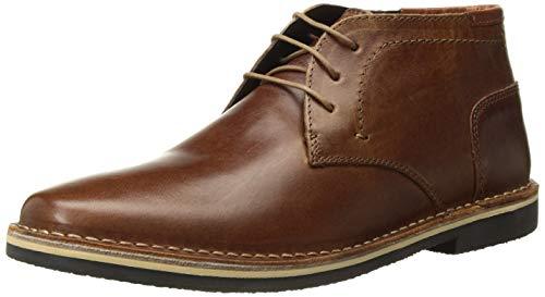 Steve Madden Men's Harken Cognac Leather 15 E US (Steve Madden Herren Oxford)