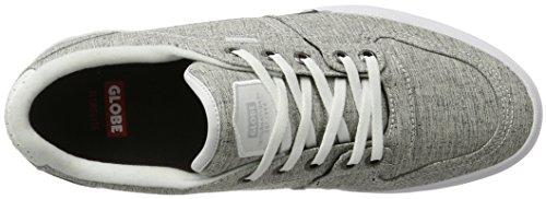 Globe Mojo Legacy, Chaussures de skateboard homme Grau (Grey Chambray/White)