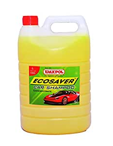 Waxpol - AES 025 Ecosaver Car Shampoo Concentrate - 5 L (for Bucket, Foam & Snow Foam Wash)