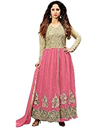 VIHA Women's Net Anarkali Salwar Suit
