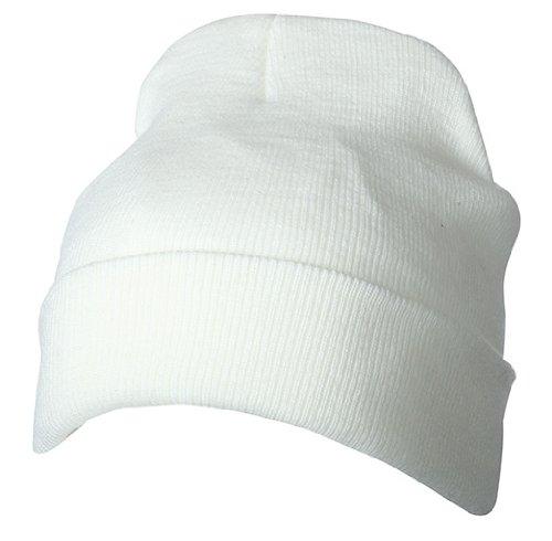 MYRTLE BEACH Thinsulate Bonnet Unisexe Taille Unique Blanc Blanc cassé Taille Unique